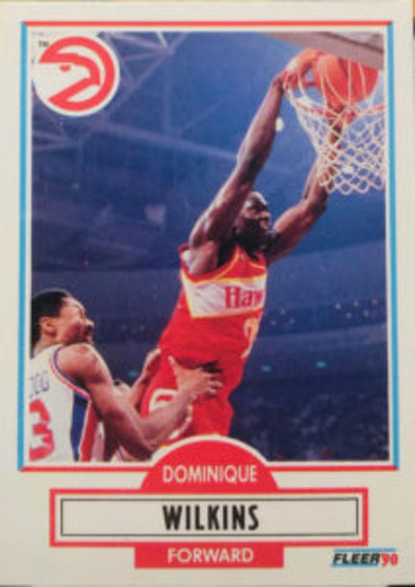 1990 Fleer card