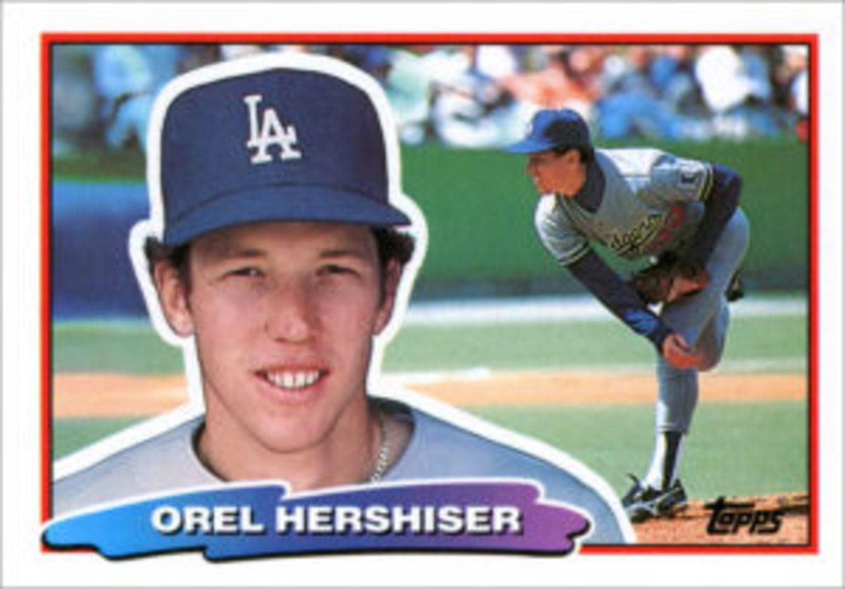 The 1988 Topps Big Baseball card design.