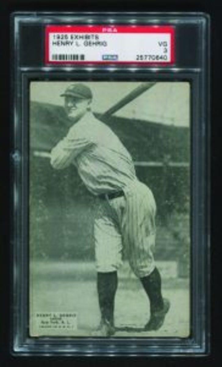 Gehrig 1925 Exhibits