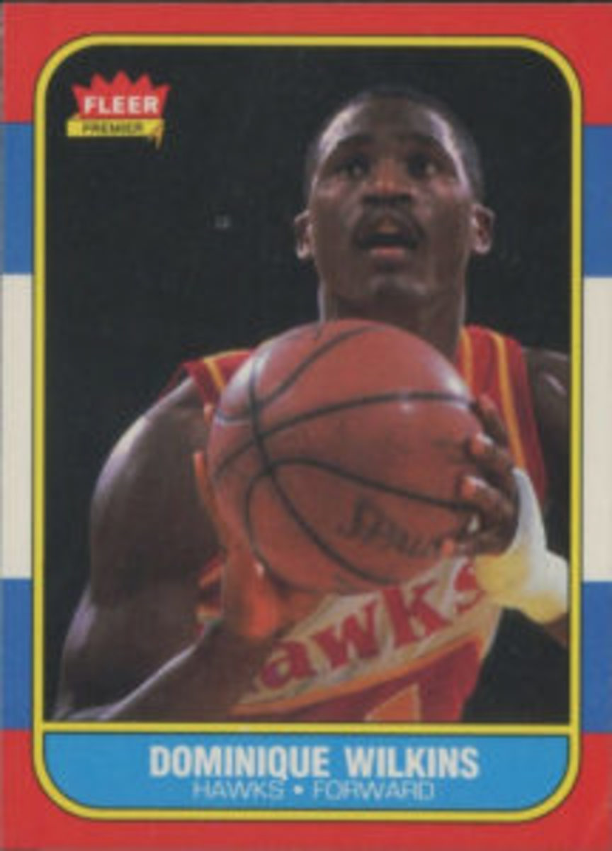 1986 Fleer card