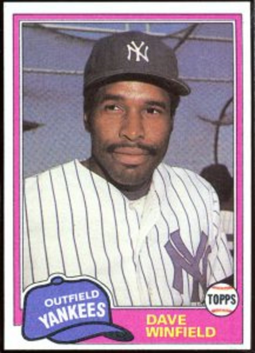81 Dave Winfield Yankees