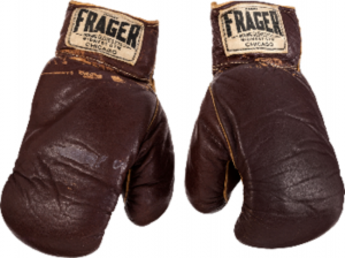 Muhammad Ali gloves from famous fights have approached $1 million in recent sales.