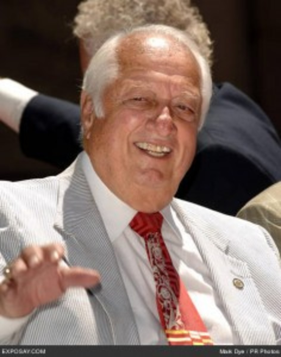 Tommy Lasorda is headed to Long Beach.