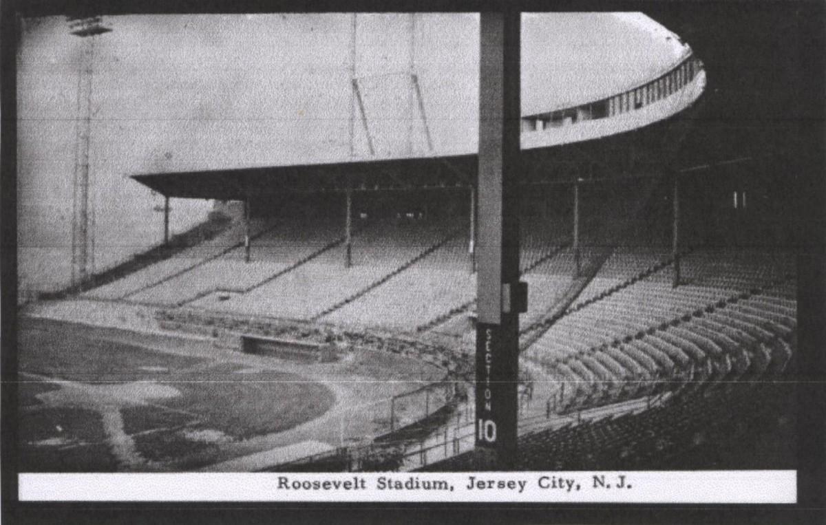 Roosevelt Stadium Post Card
