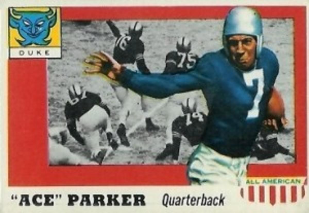 Ace Parker's 1955 Topps FB