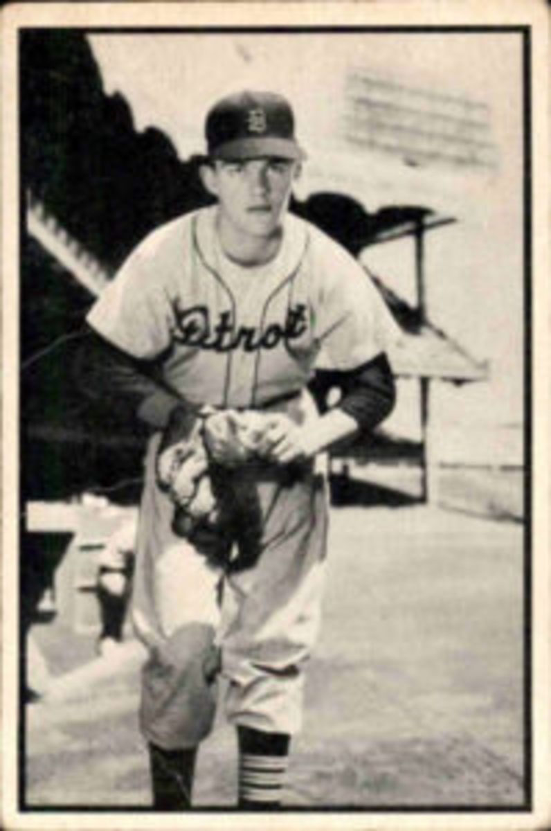 Billy Hoeft card