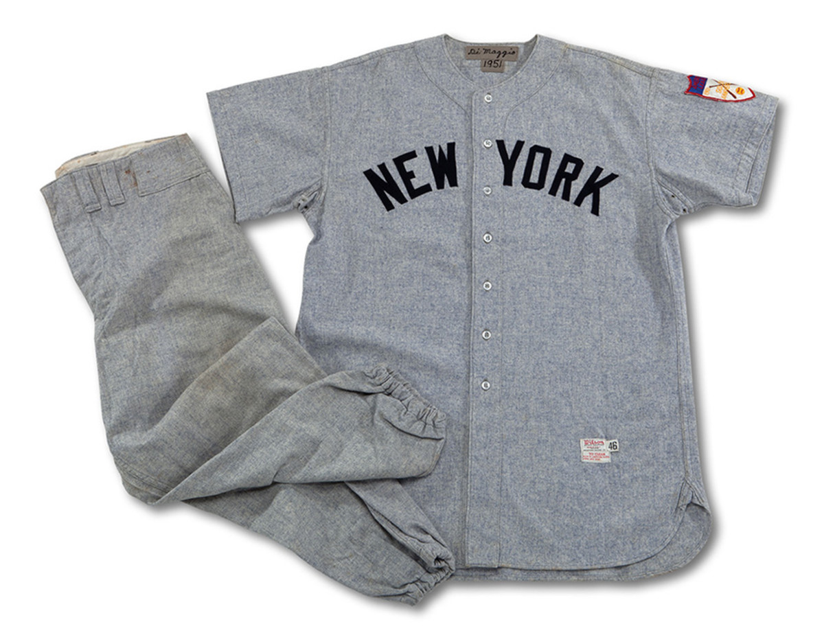 Joe DiMaggio '51 Road Uniform