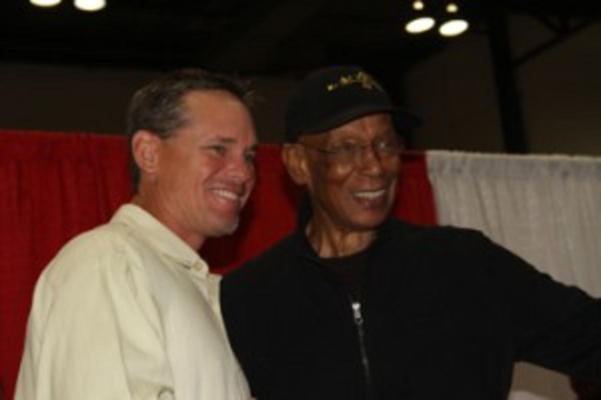 Craig Biggio and Ernie Banks