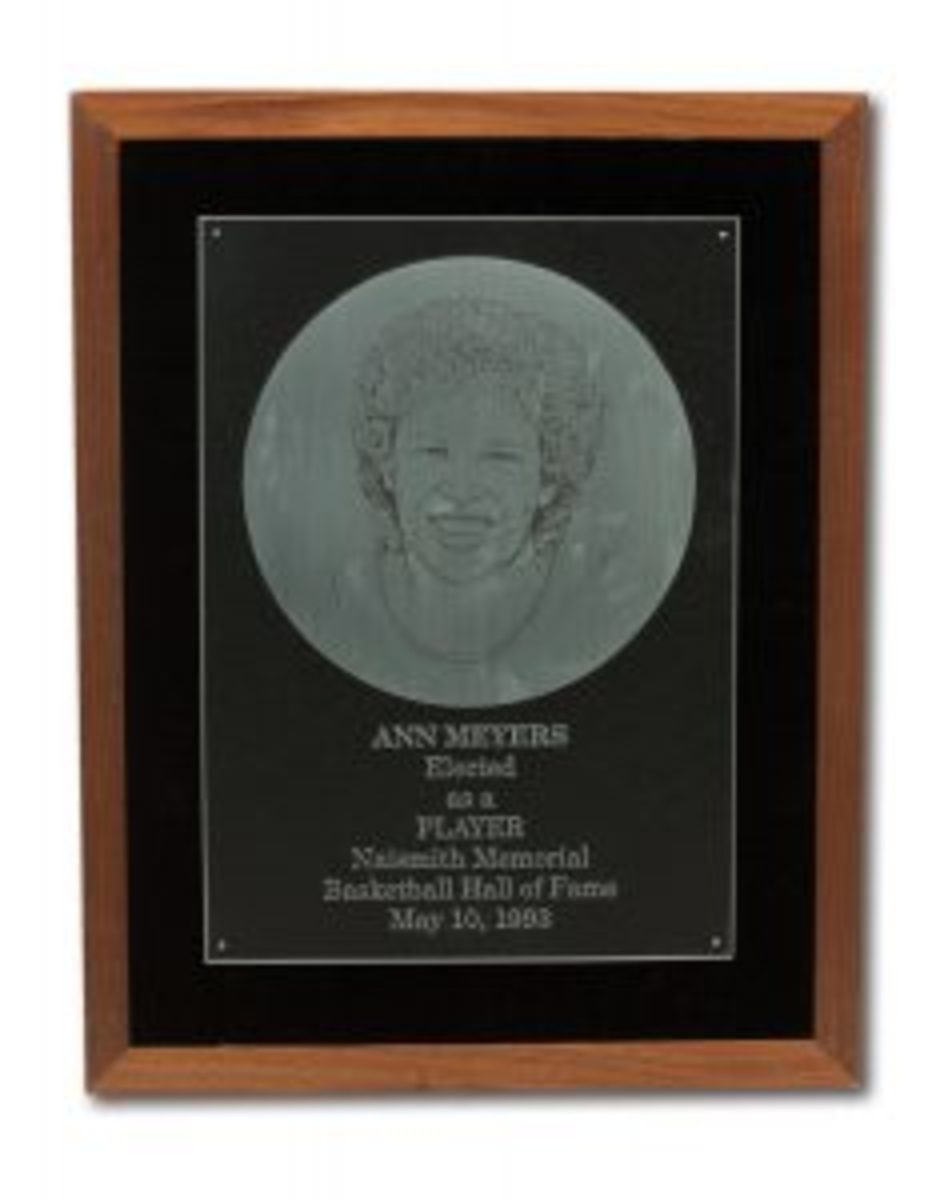 Ann-Meyers 1993 HOF Induction Plaque