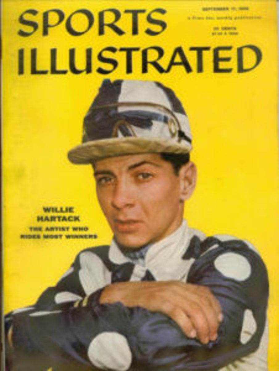 The cover of the Sept. 17, 1956 issue of Sports Illustrated that includes an interview with Chick Gandil.