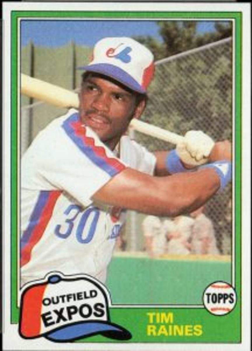 1981 Traded Tim Raines