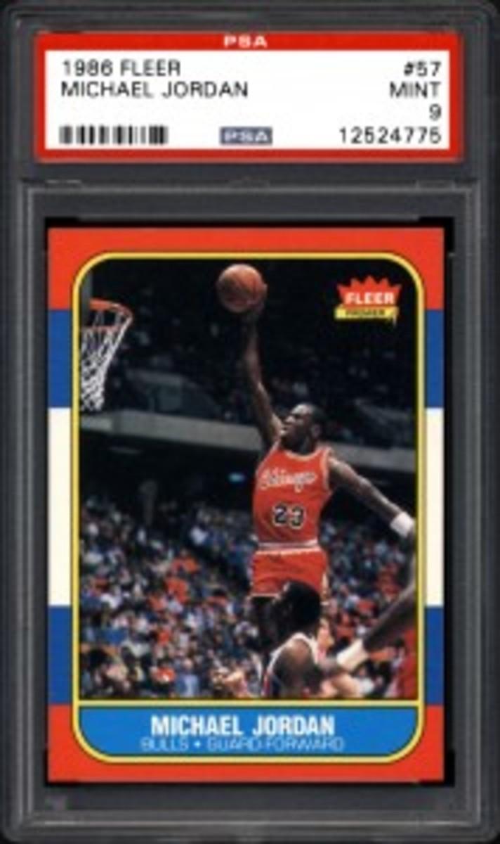 1986 Fleer #57 Michael Jordan