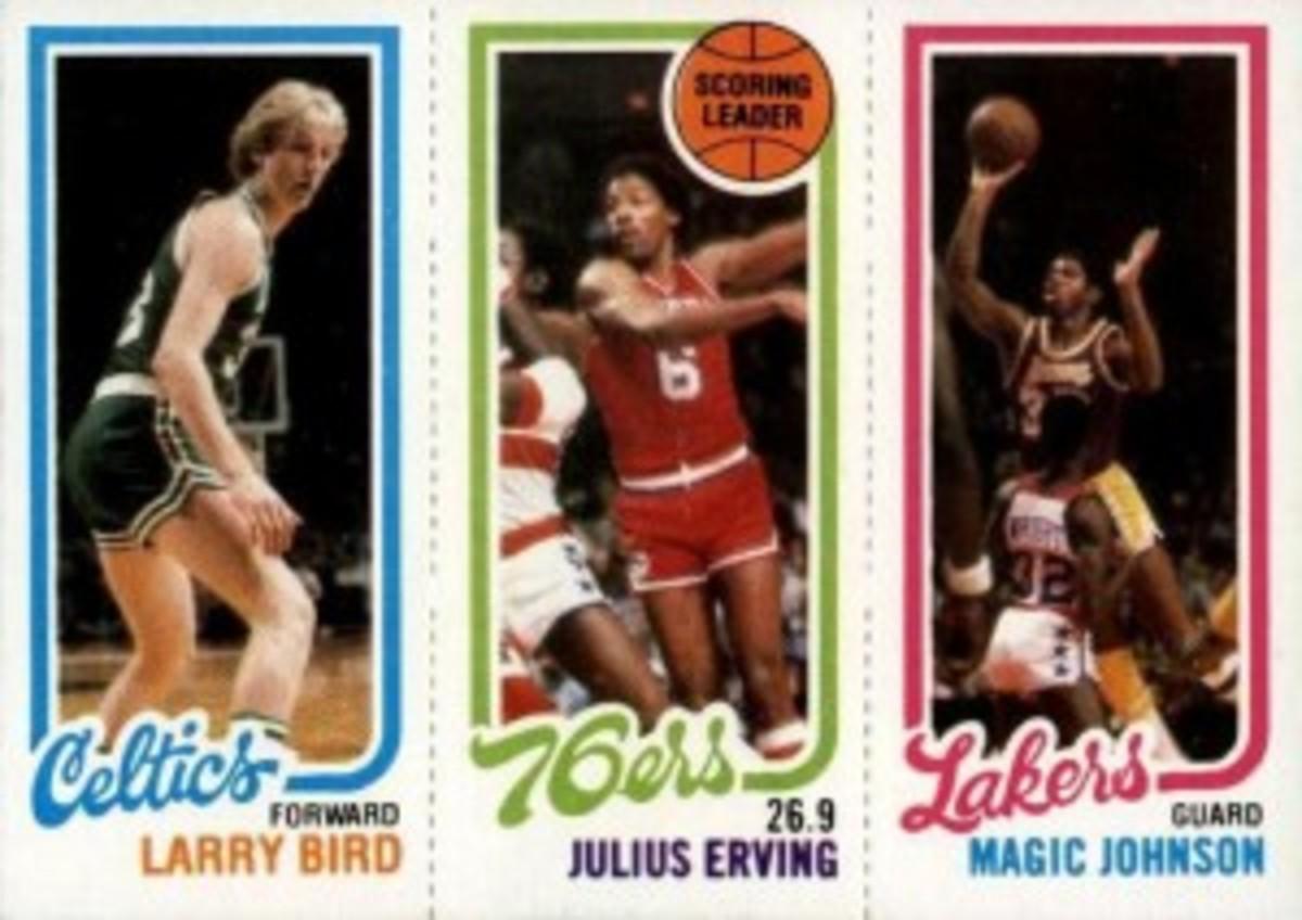 Bird_Magic_DrJ_rookie_card