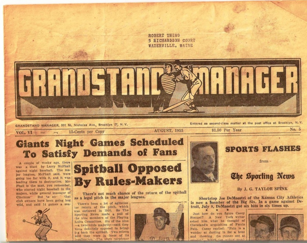 Grandstand Manager was one of the first publications that led Chapin to other collectors.