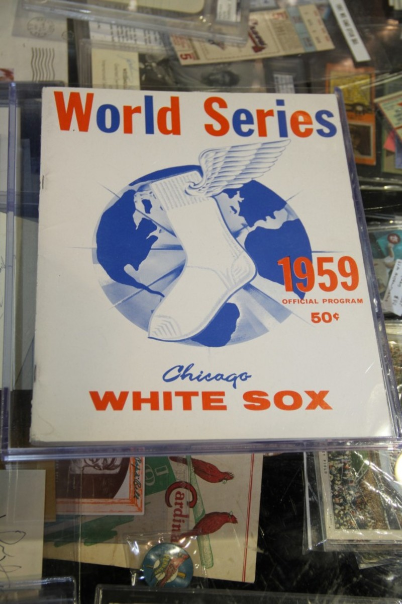 This 1959 World Series program was offered for $80.