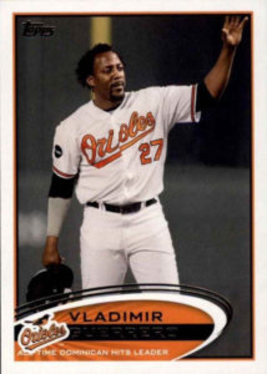 During his Major League Baseball career, Vladimir Guerrero also played for the Baltimore Orioles.