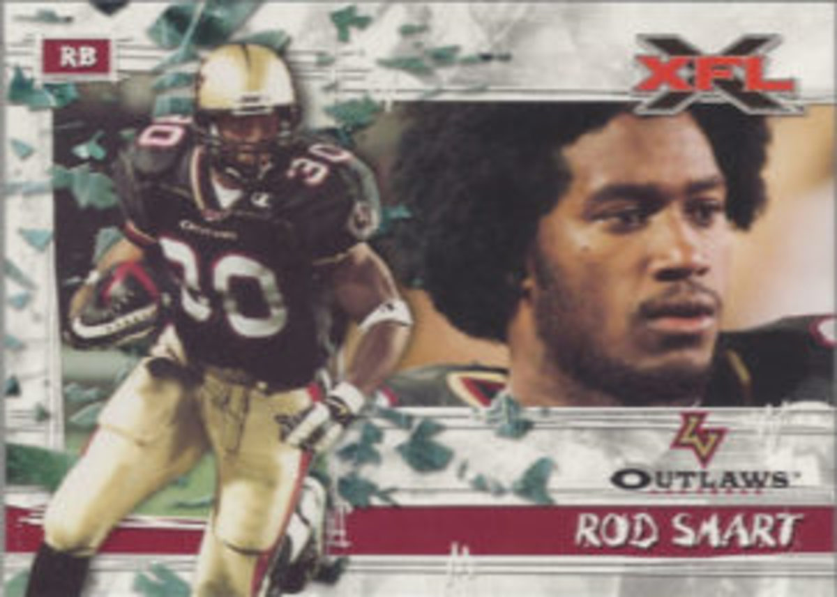 Rod Smart made a name for himself in the XFL by having the name on the back of his jersey listed as, He Hate Me.