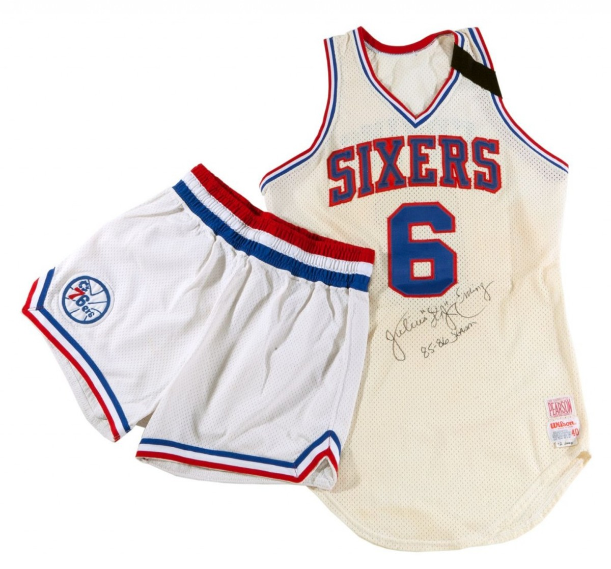 SCP Auctions has found a strong niche offering athlete collections, including that of Julius Erving. The Erving Collection brought $3.6 million. Photo courtesy of SCP Auctions.