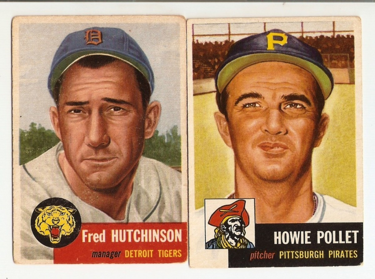 The first print run could have remained in numerical order with only one exception: trading Hutchinson for Pollet.
