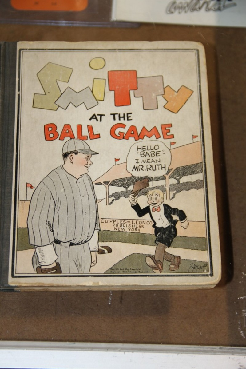 This Smitty at the Ball Game book of comic strips was offered for $125.