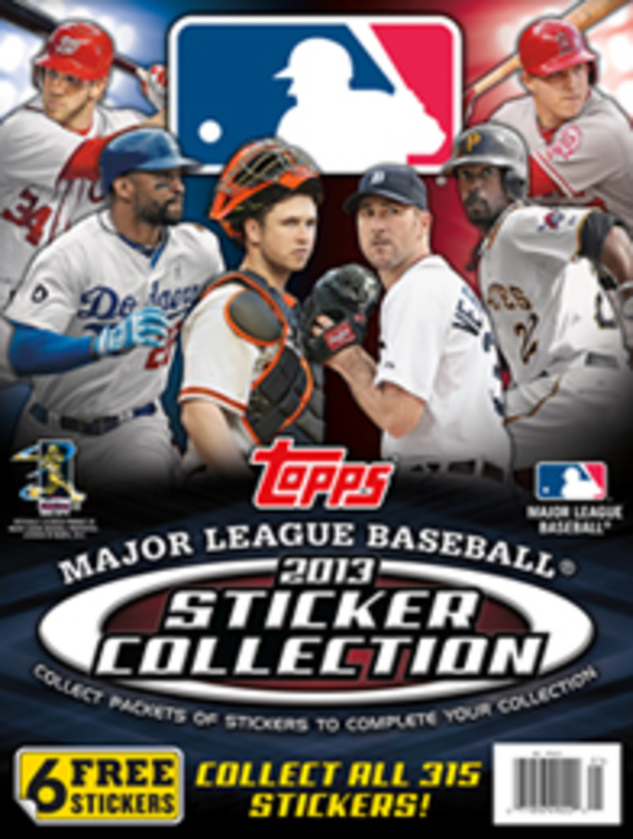 Topps MLB Sticker Legal Logos