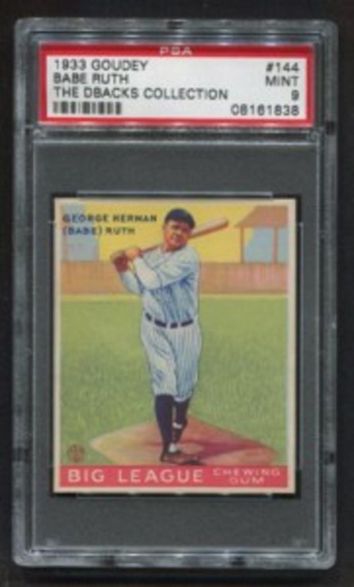 1933 Goudey 144WEB