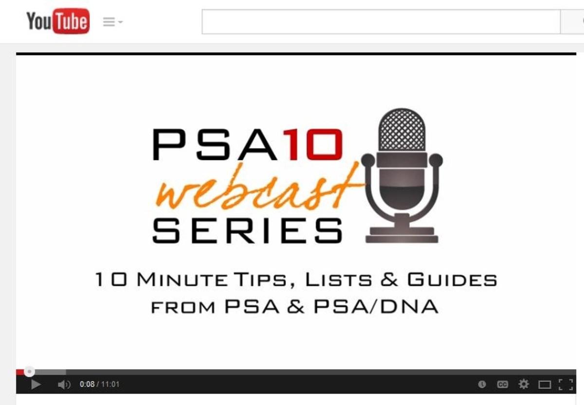 PSA10 Webcast screen grab