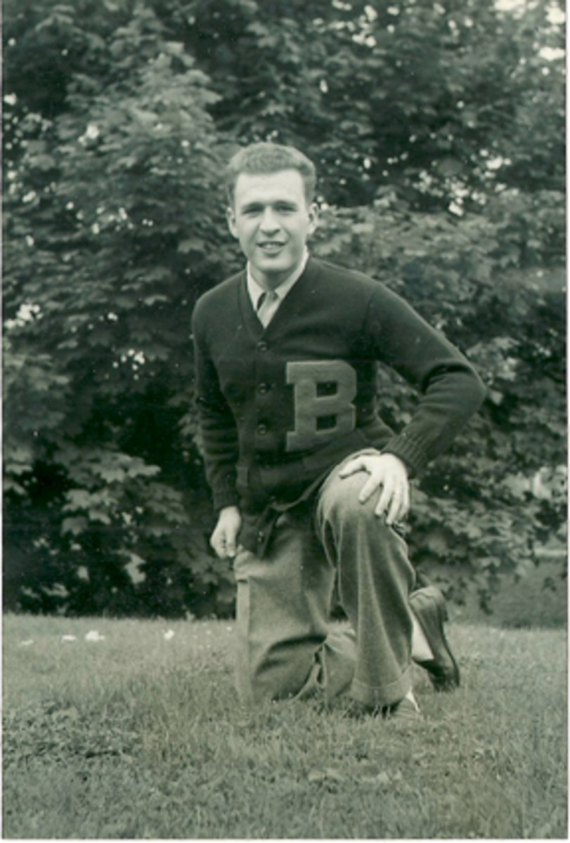 Sy in 1941 as a freshman at Bucknell.