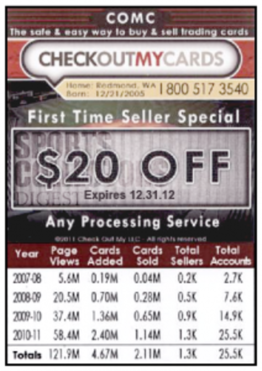 The coupon applies toward some fees, include it with your card submission before Dec. 31, 2012.