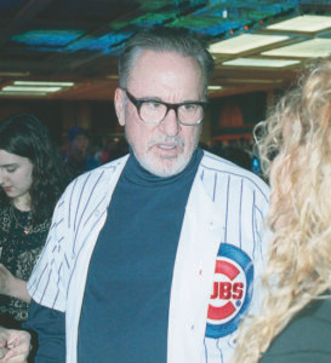 Chicago Cubs manager Joe Maddon at the 2018 Cubs Convention. (Rick Firfer photos)