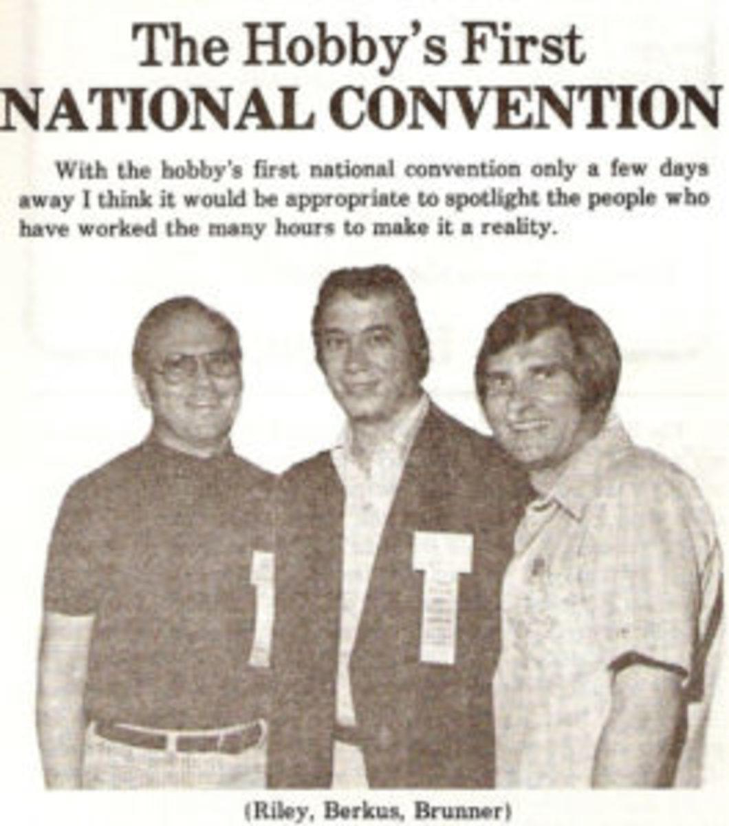 Riley, Berkus and Brunner in the September 1980 issue of Trader Speaks.