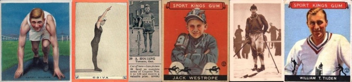 Multi-sport sets including a wide range of athletes have been issued periodically starting in the early tobacco era. They give you an opportunity to collect the entire universe of trading cards in a sport, as long as the sport you pick is obscure.
