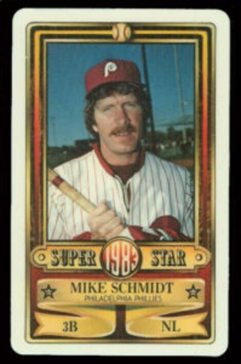 1983 Perma-Graphics Mike Schmidt card