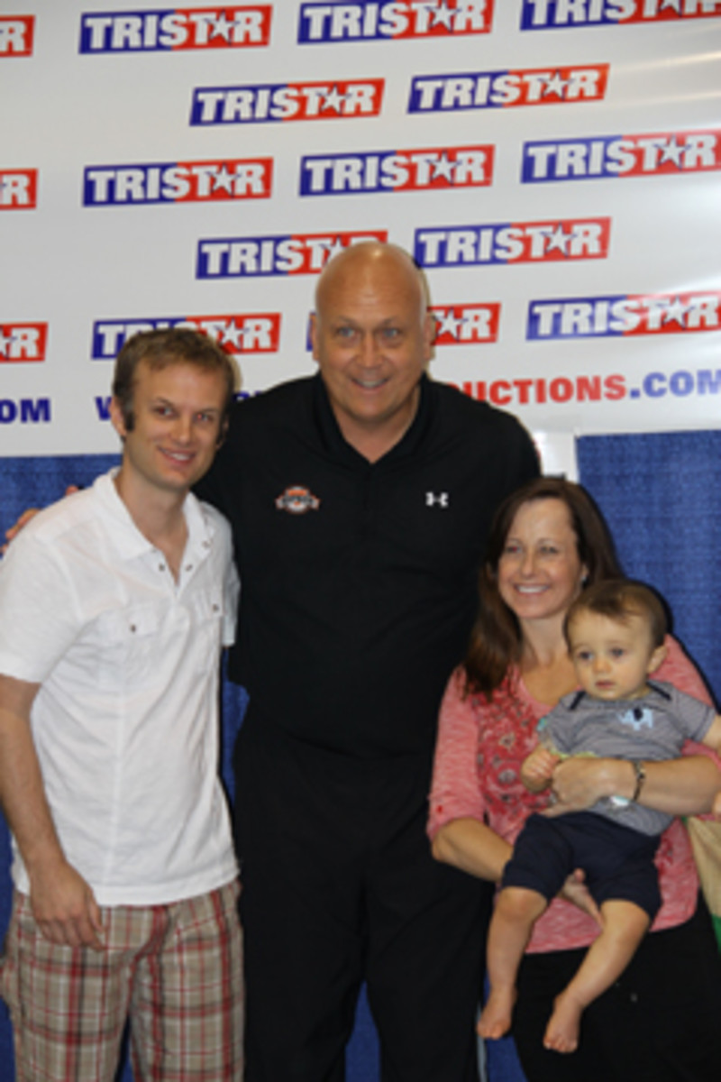 Among the more popular signers at The National was Cal Ripken Jr., who is also among the friendliest of the bunch. All photos by Ross Forman.