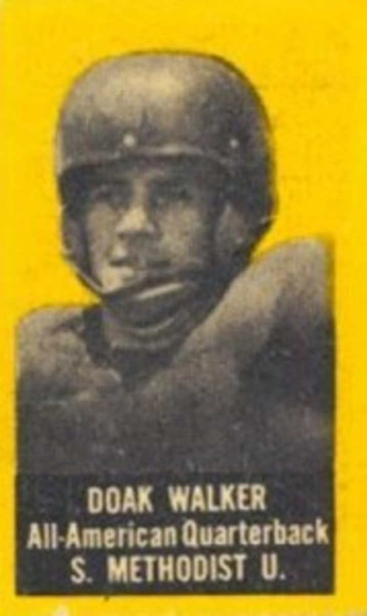 Doak Walker: SMU's triple threat and College and Pro Football Hall of Famer.