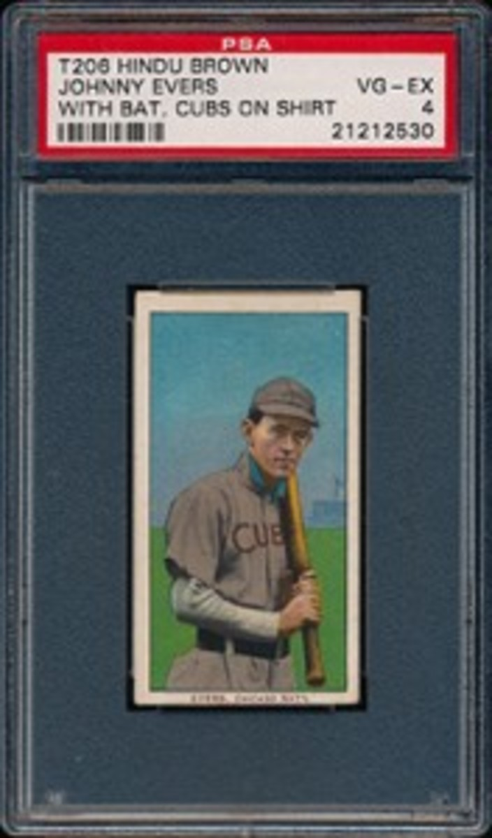 1909-11 T206 Evers Cubs Front