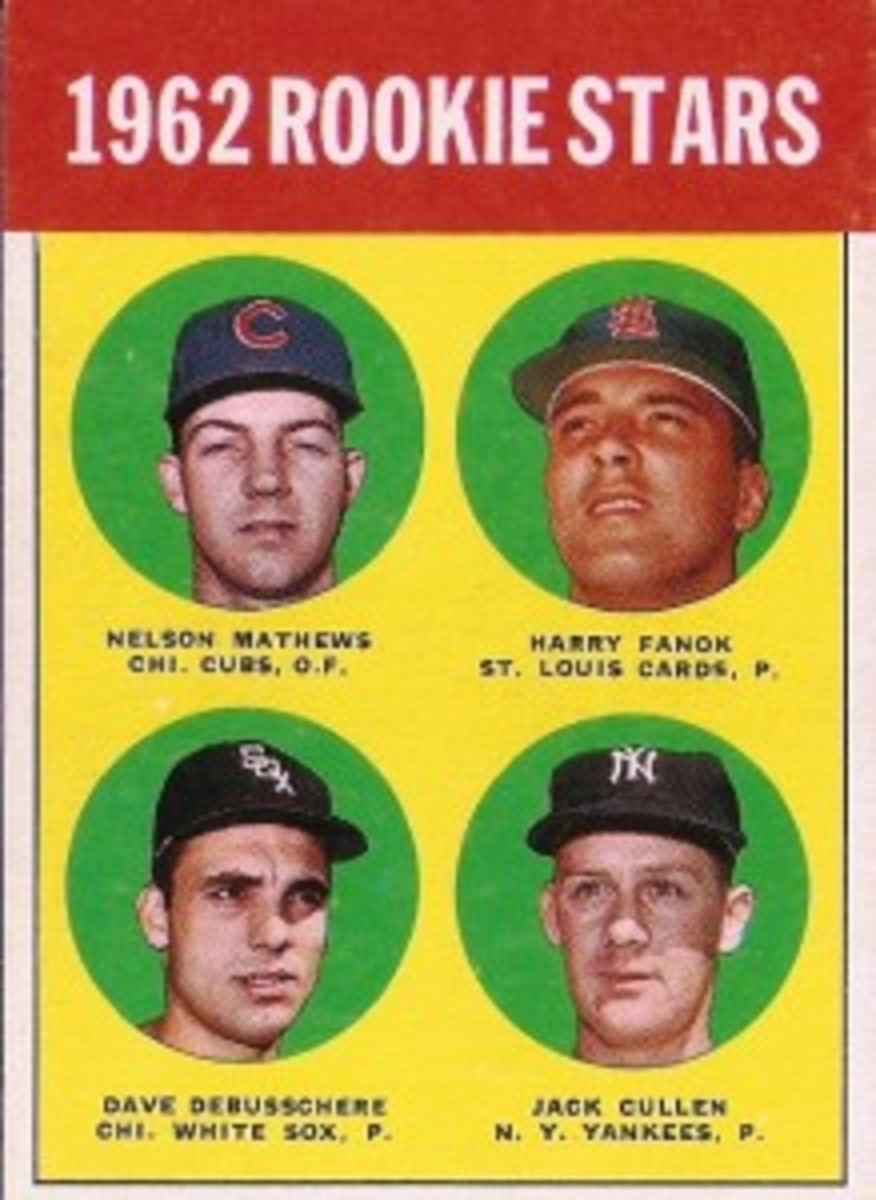 1962 Rookies front