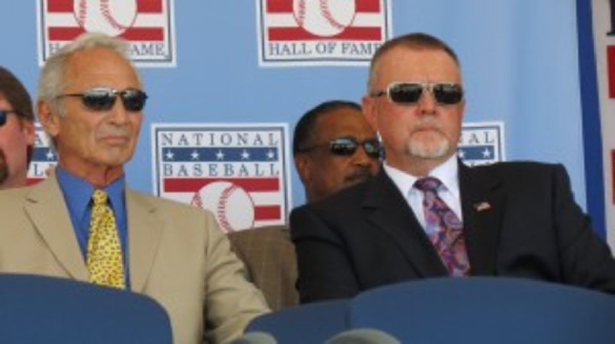 Not a bad pitching duo: Sandy Koufax and Bert Blyleven.