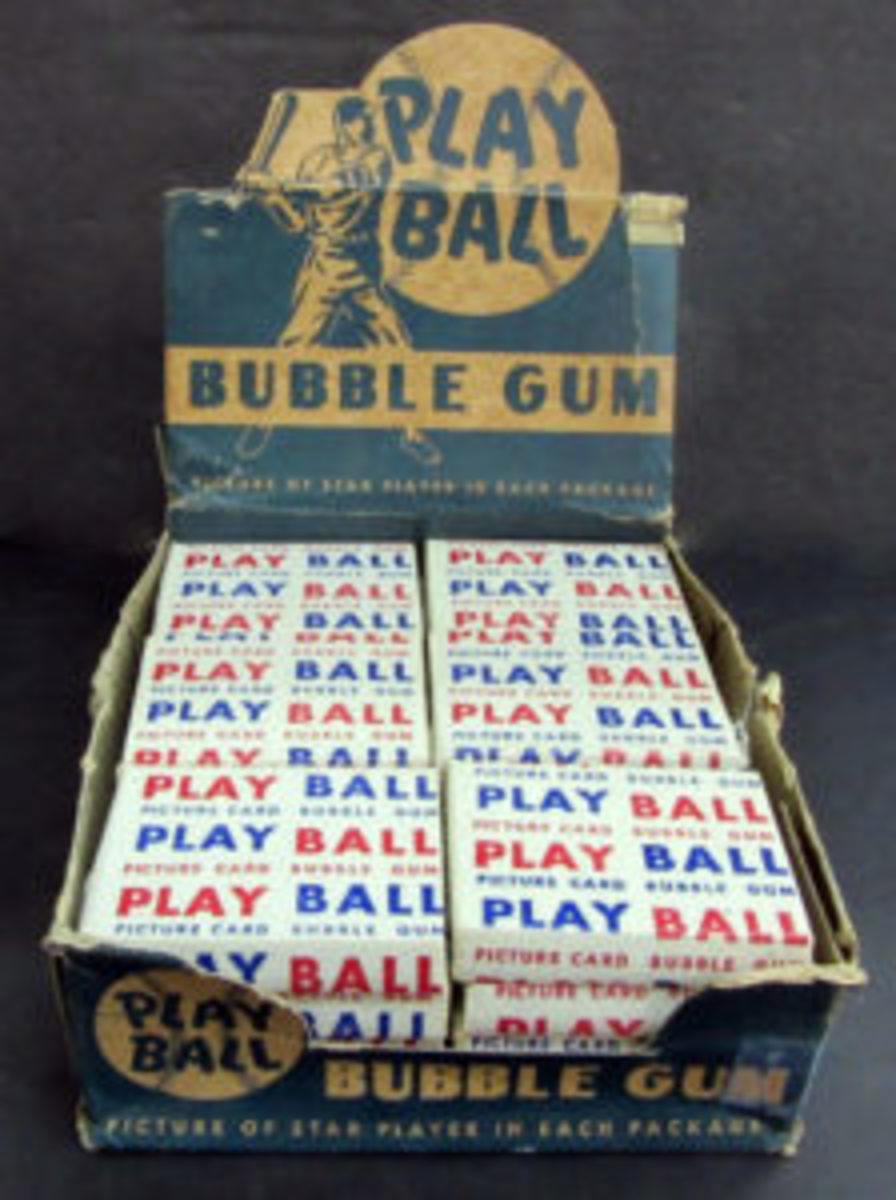 1948 unopened Bowman Baseball packs.