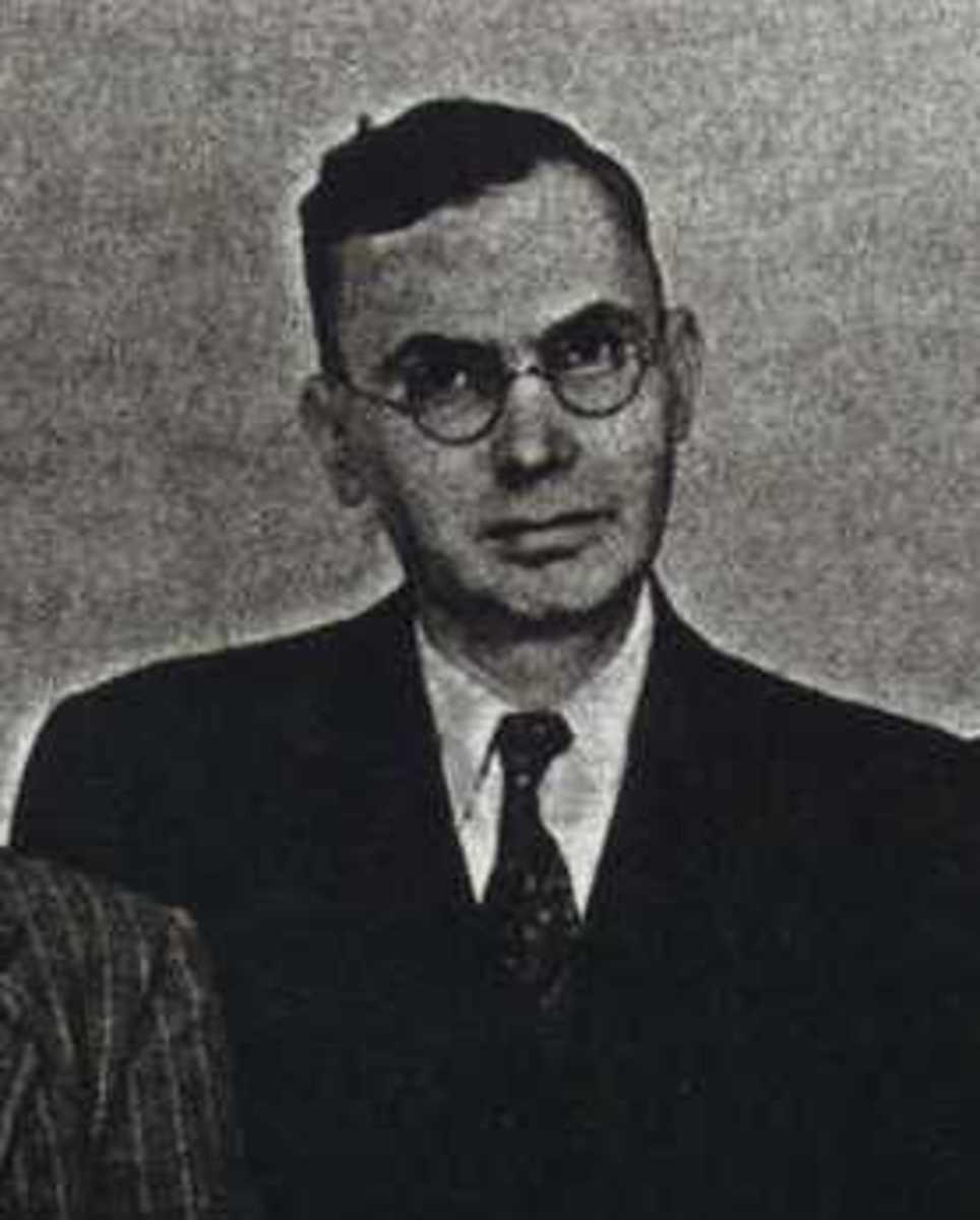 Jefferson Burdick, circa 1952.