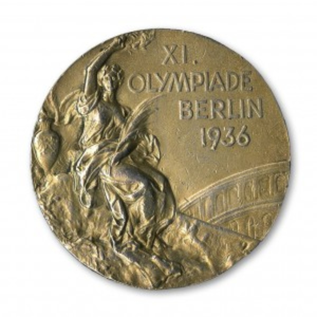 Jesse Owens 1936 Olympic gold medal topped $1 million.
