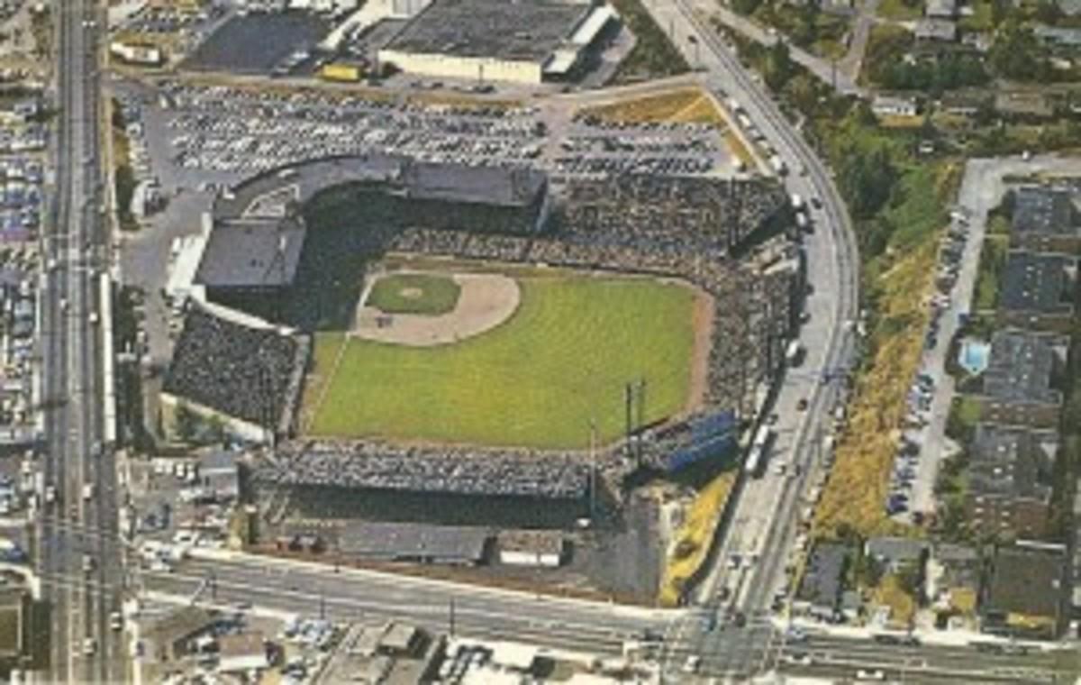 Sick's Stadium postcard