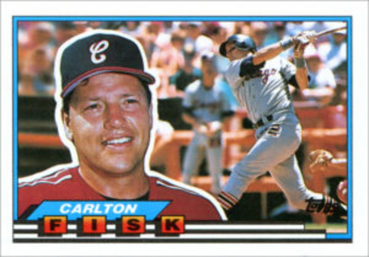 The 1989 Topps Big Baseball card design.