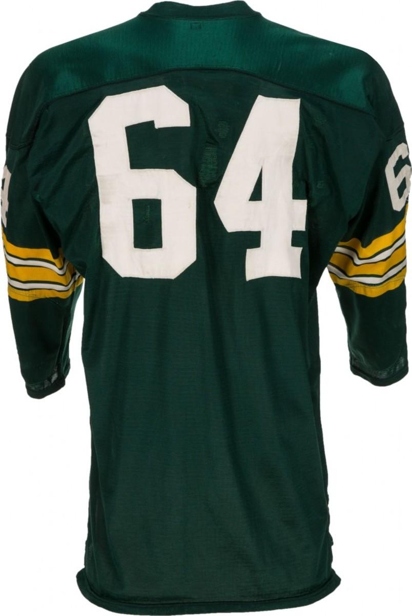 1967 Jerry Kramer Super Bowl I Game Worn Jersey with Kramer Letter Heritage Auctions-2