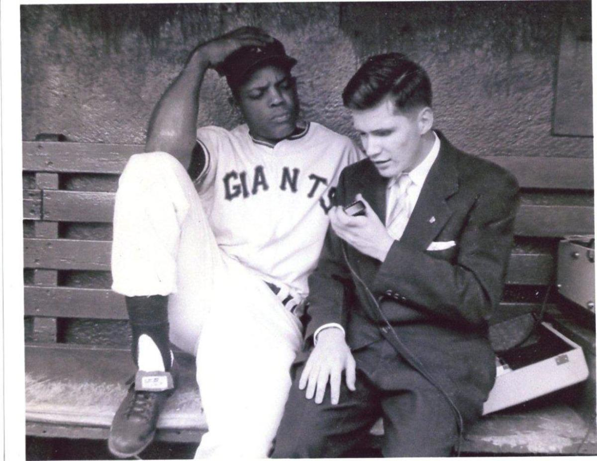 Ed and Willie Mays, 1958.