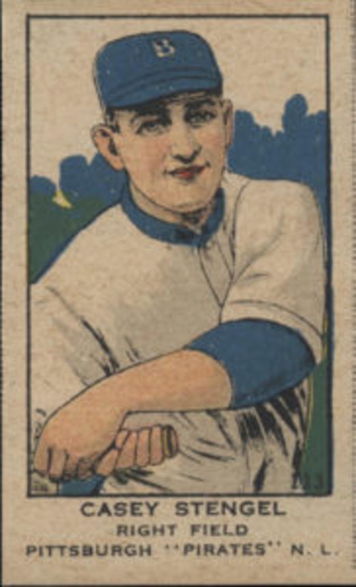1919-21 W514 Casey Stengel No. 113