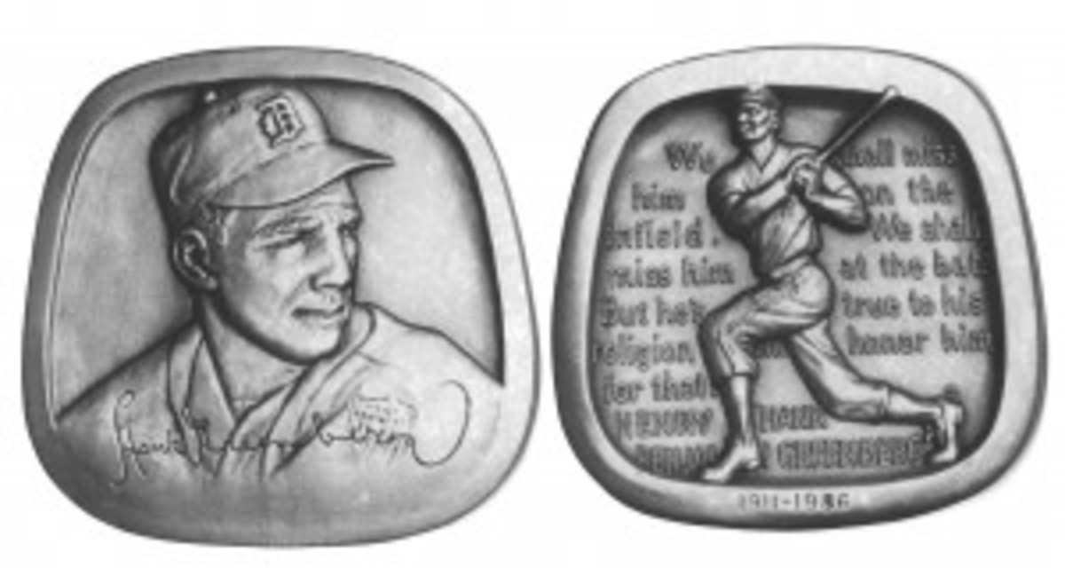 Hank Greenberg medal
