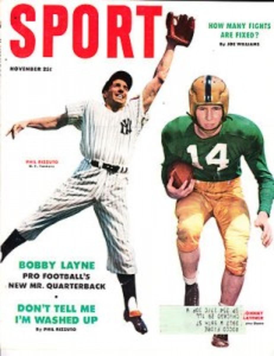 1953 Sport Magazine cover