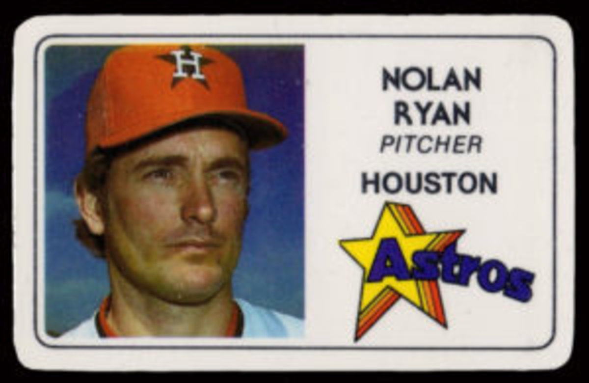 1981 Perma-Graphics Baseball Nolan Ryan card