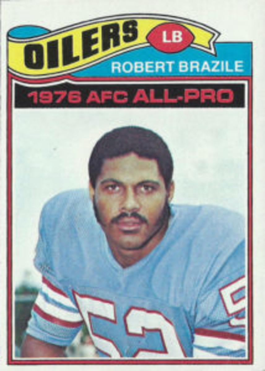 Card No. 240 from the 1977 Topps Football set.